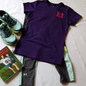 Under Armour heatgear tshirt for runners